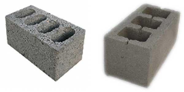 Фото блоков из шлакобетона