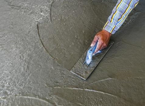 Фото железнения бетона